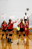 TVS Vs Dixie 7th grade Volleyball 9-12-16-11