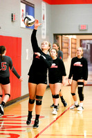 DHS Varsity volleyball 10-9-17-4