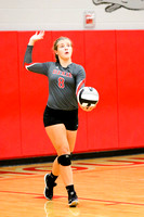 DHS Varsity volleyball 10-9-17-19