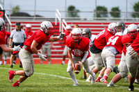 DHS vs TCN Football Scrimmage-15