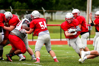 DHS vs TCN Football Scrimmage-6