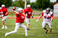DHS vs TCN Football Scrimmage-18