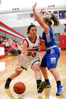 DHS vs BHS JV Girls Basketball 12-10-16-8