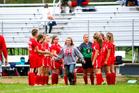 TCN vs TVS Girls Soccer 10-9-17-4