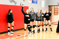 DHS Varsity volleyball 10-9-17-5