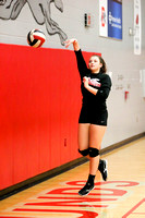 DHS Varsity Volleyball 10-9-17