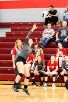 DHS Varsity volleyball 10-9-17-12