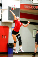 DHS VS TCN Volleyball 10-16-17-14