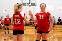 TVS Vs Dixie 7th grade Volleyball 9-12-16-17