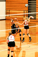 TVS Varsity Volleyball vs mississinawa Valley 8-30-16-12