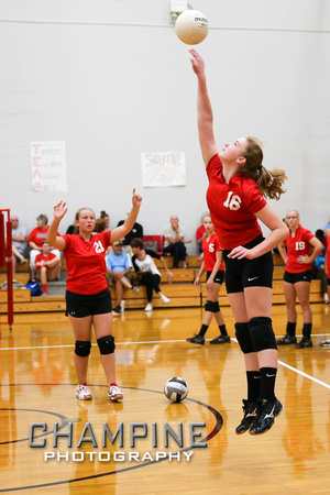 Champine Photography Tvs 8th Grade Vs Dixie Volleyball 9 12 16
