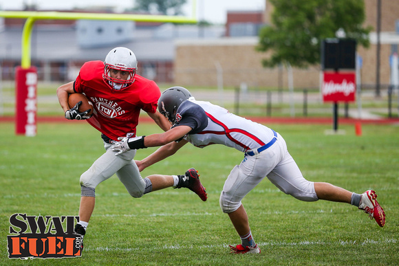 DHS vs TCN Football Scrimmage-81