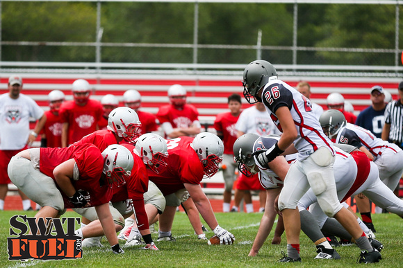 DHS vs TCN Football Scrimmage-56