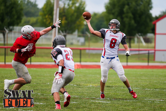 DHS vs TCN Football Scrimmage-71