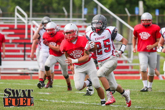 DHS vs TCN Football Scrimmage-42