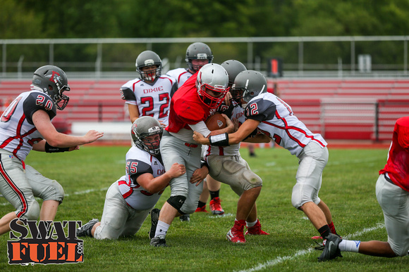 DHS vs TCN Football Scrimmage-36