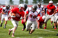 DHS vs TCN Football Scrimmage-16