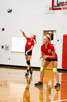 TVS 7th Grade vs Dixie Volleyball 9-12-16