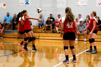 TVS Vs Dixie 7th grade Volleyball 9-12-16-4