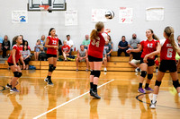 TVS Vs Dixie 7th grade Volleyball 9-12-16-9
